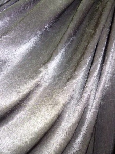 Silver fabric for the Linens, Things and More... 2010 Collection