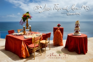 Wedding Sunset linen collection in Cabo