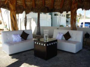 Wedding Lounge set-up at Catillo Escondido Los Cabos