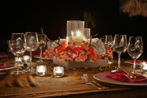 high end brown and pink design los cabos wedding and event