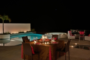 Exclusive linens set-up los cabos wedding and event