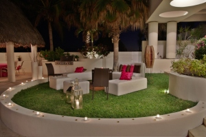 brown and pink linens design Lifestyle Cabo weddings and events
