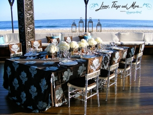 Cabo Azul high end wedding set-up