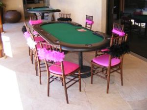 Pink and Black Casino Cabo event