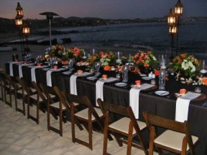 Dinner on the beach at One & Only Palmilla