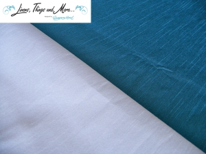 Off-white and ocean turquoise perfect design for your cabo event