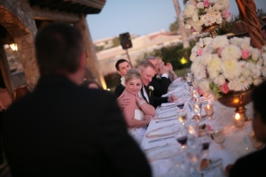 Cabo wedding design candles and flowers