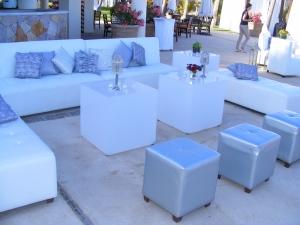 High end wedding decor in Cabo