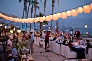 Event and wedding decors at the Hilton Los Cabos