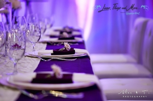 Sheraton high end wedding set-up