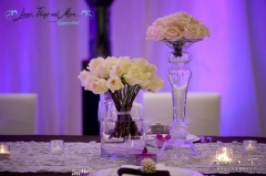 Sheraton indoor high end set-up and flowers