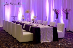 Sheraton Los Cabos indoor wedding set-up