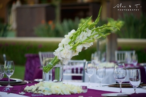 Special event and wedding flowers at Sheraton Los Cabos