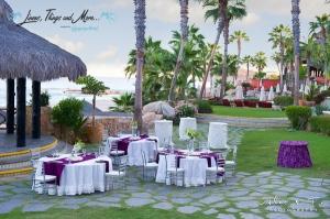 High end wedding decor at Sheraton Los Cabos