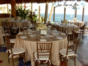 Sunset Da Mona Lisa Los Cabos Sand Wedding Decor