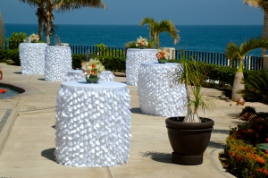 Club campestre San Jose wedding set-up
