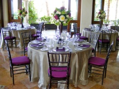 wedding flower and linen design Los Cabos