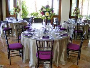 wedding flower and linen design Los Cabos