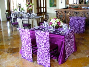 Cabo wedding cake table and love table