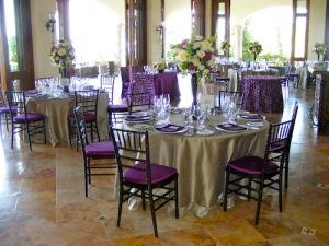 Cabo del Sol Club house wedding set-up