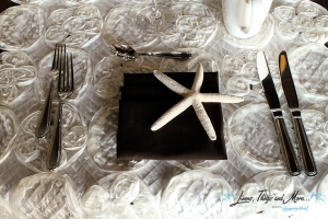 Napkin for special event design Los Cabos