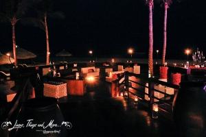 Los Cabos unique Lounge set-up