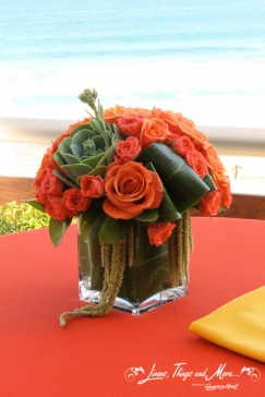 High end floral wedding design Cabo
