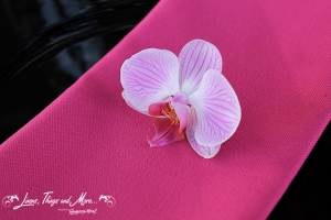 High end wedding napkins detail for a Cabo Wedding