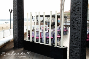 TAT wall of light unique wedding design in Cabo