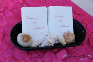 wedding guest book table Cabo