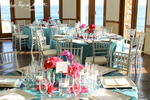 High end wedding Esperanza Resort Cabo decor