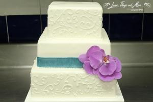 Wedding Cake decor at Esperanza Resort