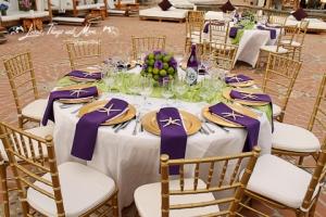 wedding cabo: linens decor Nikki beach