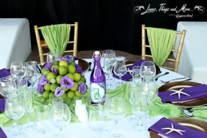 Wedding Cabo: bride and groom table decor