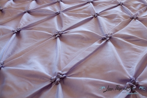 wedding Cabo: lavender pintuck fabric