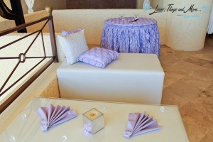 wedding Cabo: lavender showcase