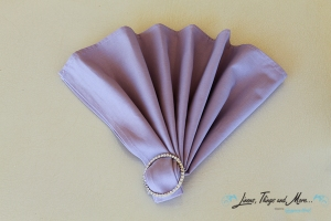 wedding Cabo: lavender napkins