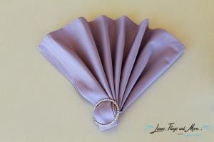 wedding Cabo: lavender napkins