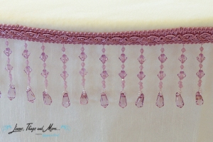 wedding Cabo: lavender beads