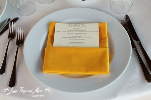 wedding and event cabo yellow napkin