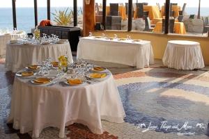 Sunset Da Monalisa wedding decor
