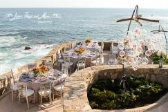 High end wedding design Esperanza resort Cabo
