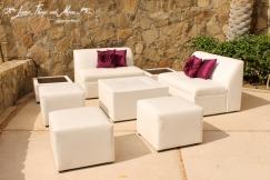 Lounge design Wedding Esperanza Resort