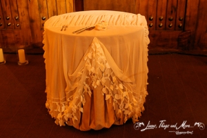 high end wedding cake table design Los Cabos