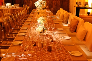 High end wedding ballroom design by Signature Los Cabos