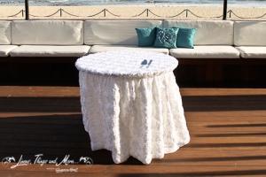Wedding Cake table design Cabo Azul Resort