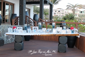 Pictures table at Cabo Azul Resort