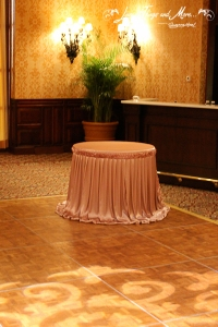 perfect wedding cake table One & Only Palmilla Los Cabos