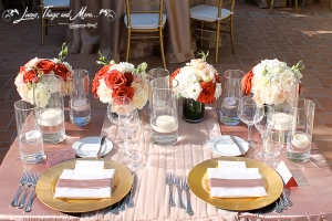 high end wedding napkin details at One & Only Palmilla Los Cabos