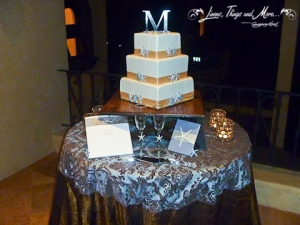 Wedding Cake table design Villa De Los Suenos Pedregal